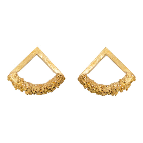 Minerva earrings - gold