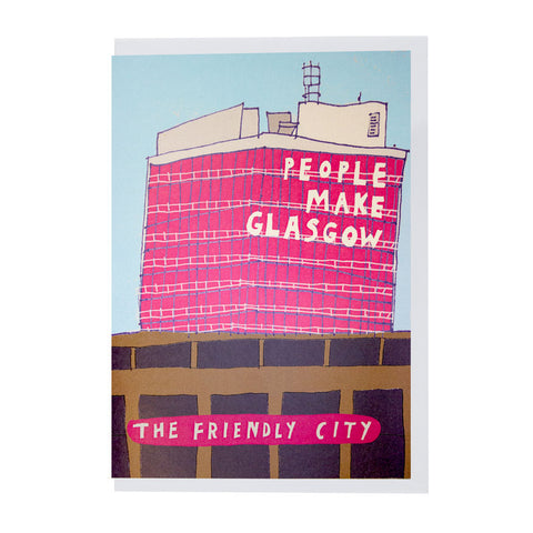 People make Glasgow card