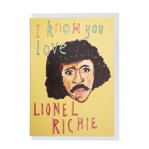 Lionel Richie card