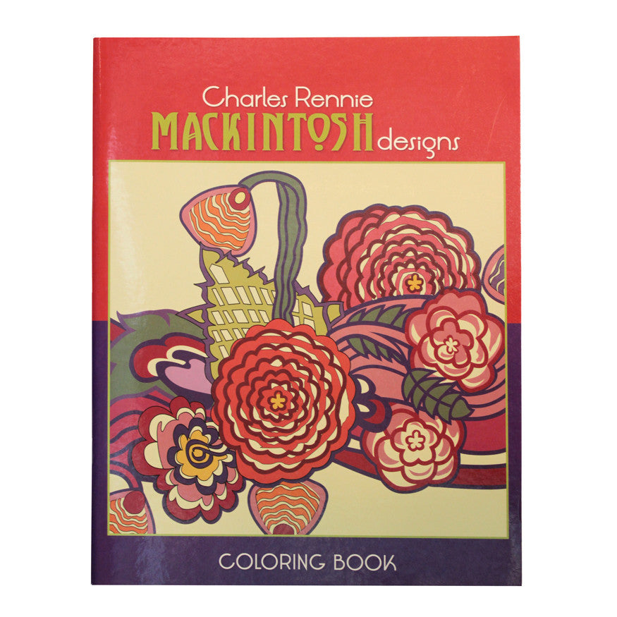 Mackintosh Colouring Book