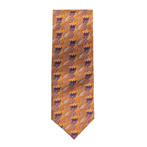 Mackintosh silk tie - daisy