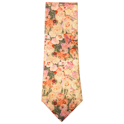 Mackintosh silk tie - pinks