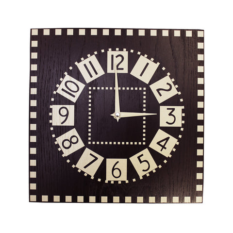 Mackintosh studio clock
