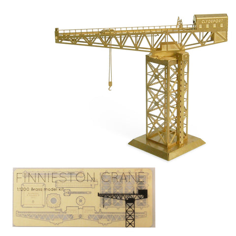 Model kit - Finnieston crane