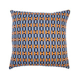 Paperchain cushion - harbour