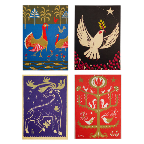 GSA Archives Christmas card pack - Sylvia Chalmers