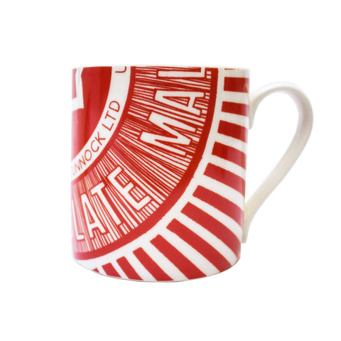 Teacake wrapper mug
