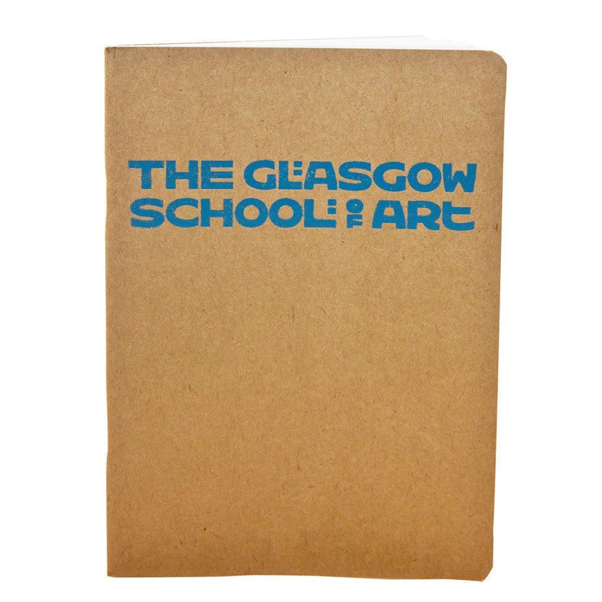 A5 'The Glasgow School of Art' sketchbook