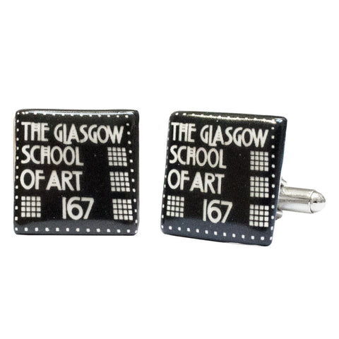 Address board cufflinks