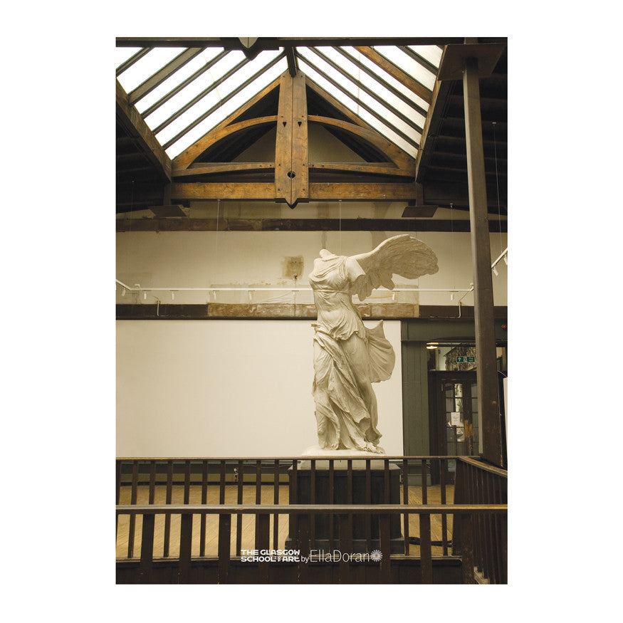 Poster - Winged Victory plastercast