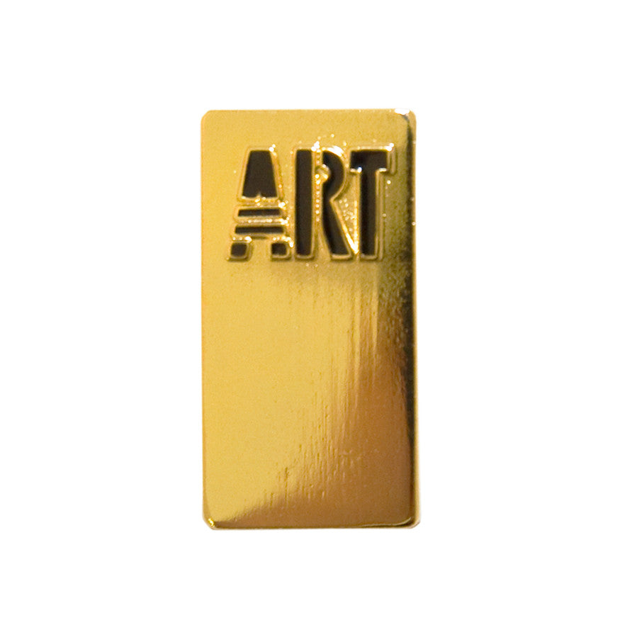 Art pin badge