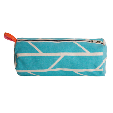 Barrel pouch - blue