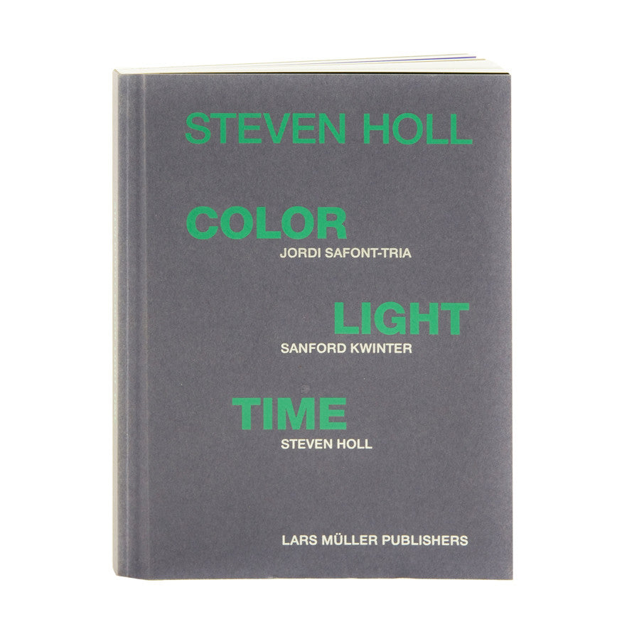Colour, light, time