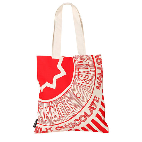 Teacake wrapper tote bag