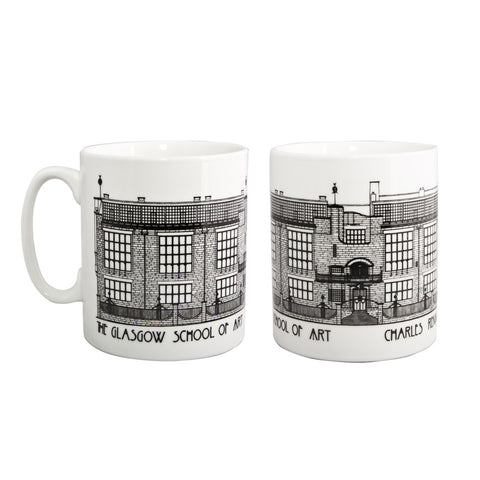 Mackintosh building mug