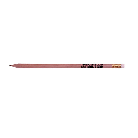 Glasgow school of art pencil with rubber