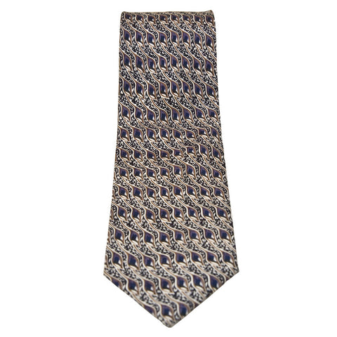 Mackintosh 'cotton' print silk tie