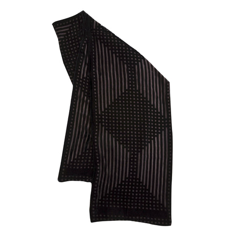 Mackintosh lattice scarf