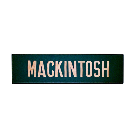Mackintosh plaque