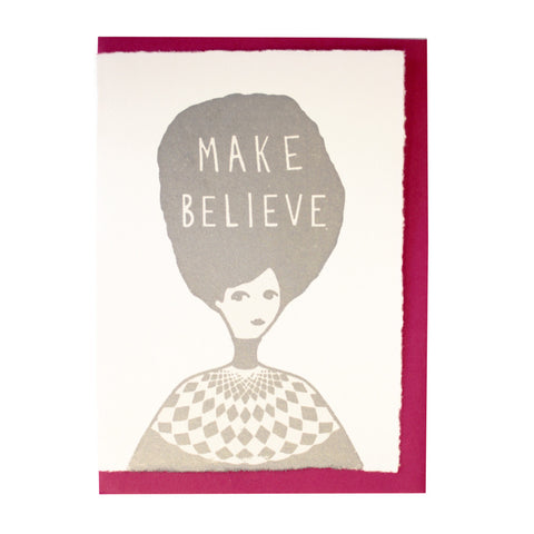 Make believe card