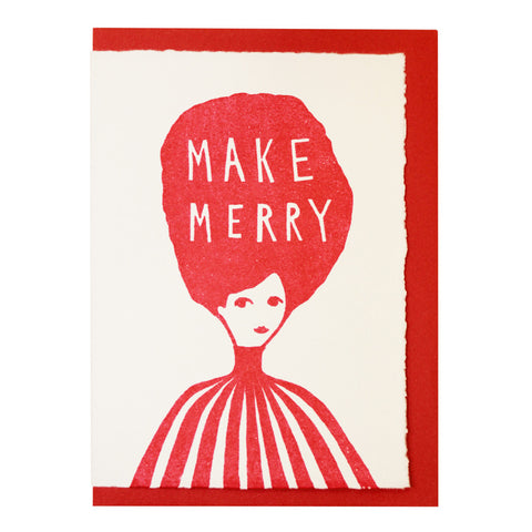 Make merry card