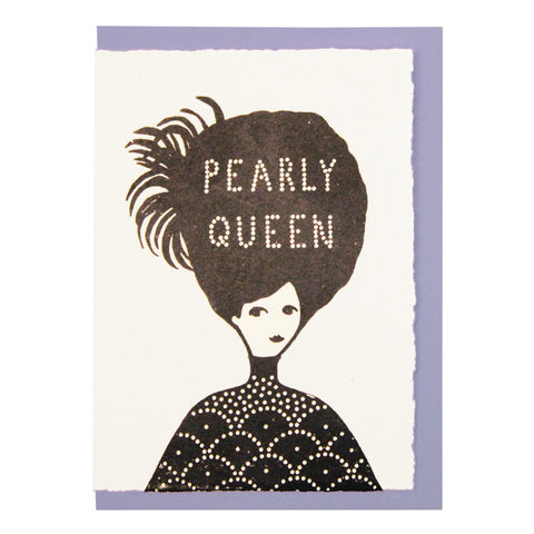 Pearly queen card
