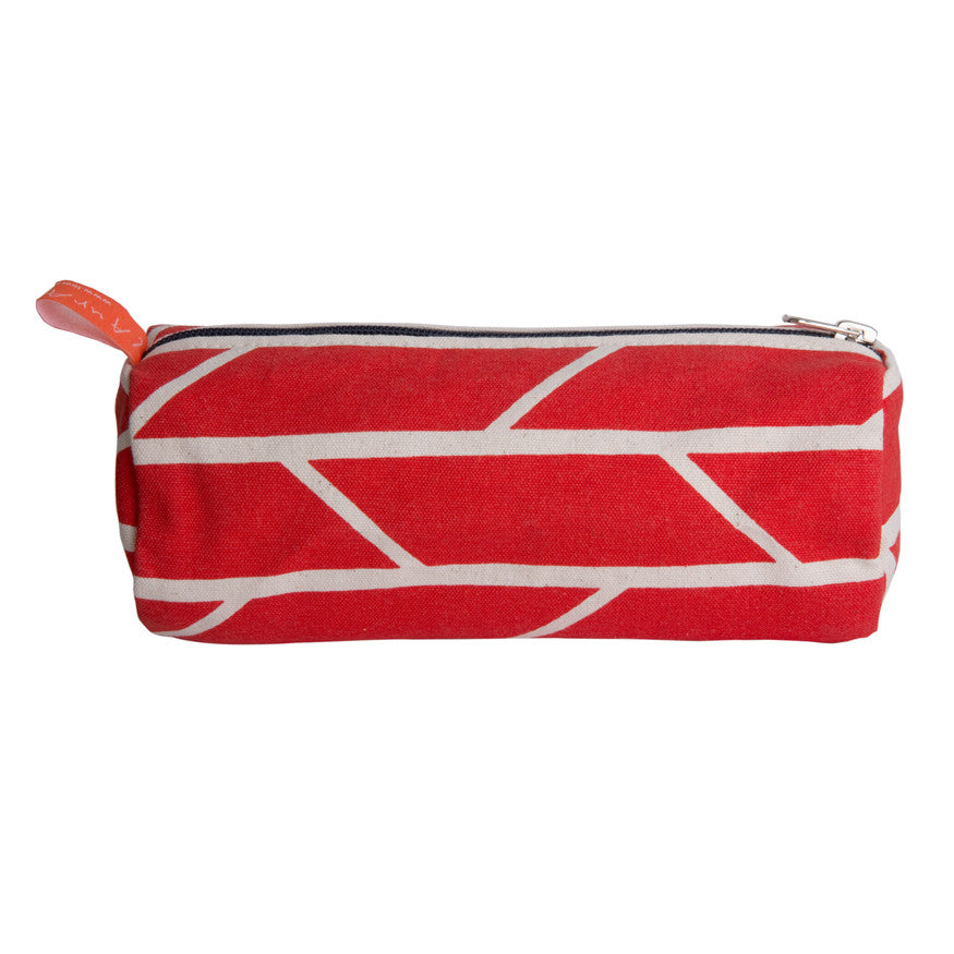 Barrel pouch - red