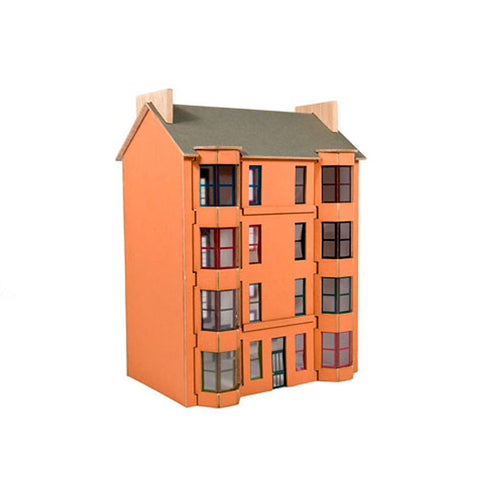 Model kit - red tenement
