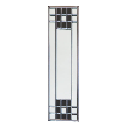 Stained glass mirror - lattice