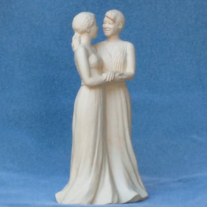 Women Embracing--original