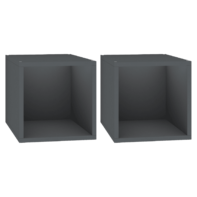 "Alpha Shelf X80 - Add on for Alpha Bookshelf - 30""/ 42""/ 54""/ 67"", Classic Wenge (Set of 2)"
