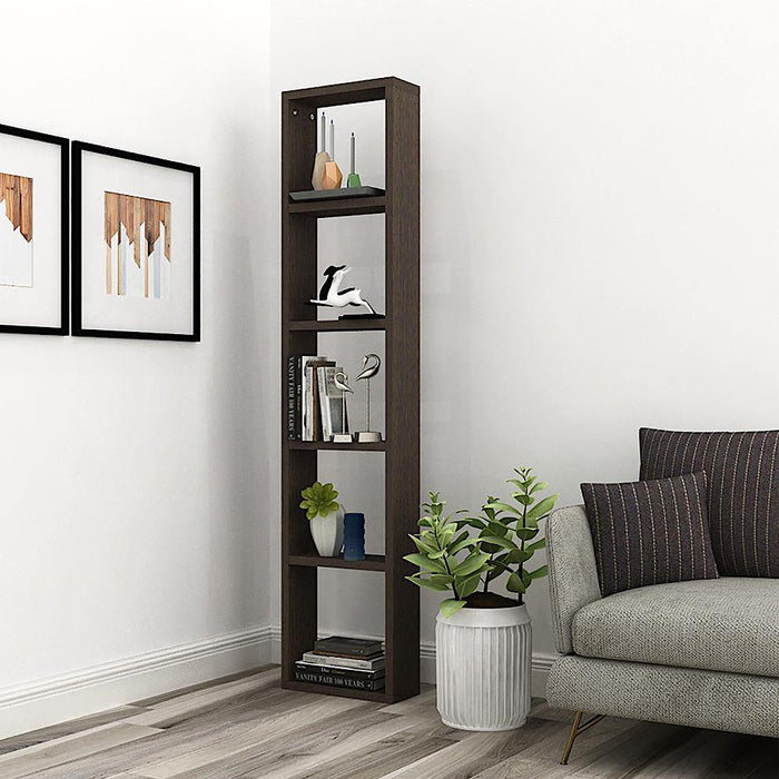 Triton X15 Display Rack/Wall Mount Bookshelf, Storage Organiser for Home Decor *Pre Assembled* (Classic Wenge)