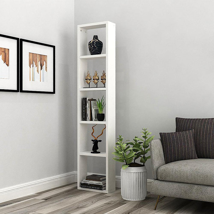 Triton X15 Display Rack/Wall Mount Bookshelf, Storage Organiser for Home Decor *Pre Assembled* (Frosty White)