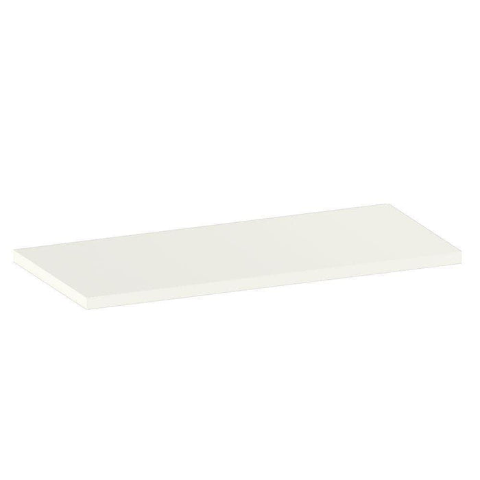 "Alpha Shelf X80 - Add on for Alpha Bookshelf - 30""/ 42""/ 54""/ 67"" , Frosty White (Single)"