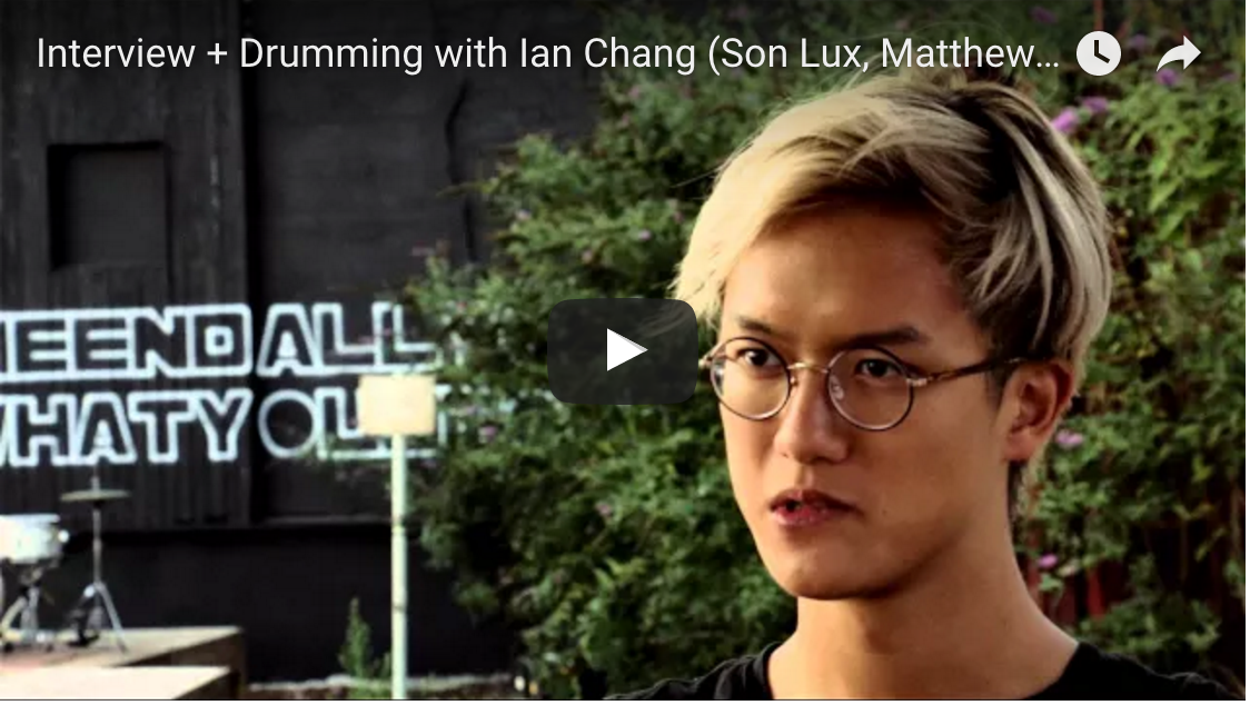 Interview + Drumming with Ian Chang (Son Lux, Matthew Dear) - C&C Drums Europe