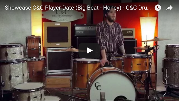 Showcase C&C Player Date (Big Beat - Honey) - C&C Drums Europe
