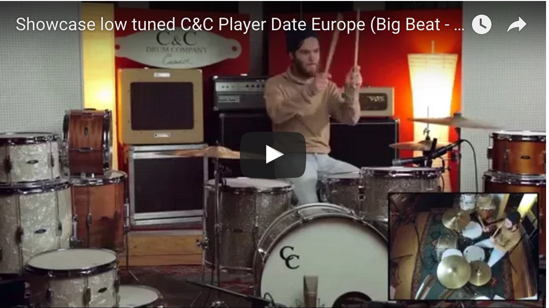 Showcase low tuned C&C Player Date Europe (Big Beat - Ginger Glass Glitter)