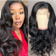 13x6 Body wave Lace Frontal Human Hair Wigs Brazilian Transparent Lace Closure Wig For Black Women by Queen Life hair