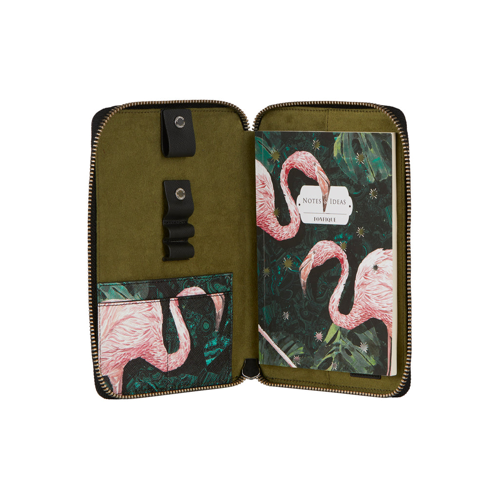 Mini Risha Organizer in Flamingo