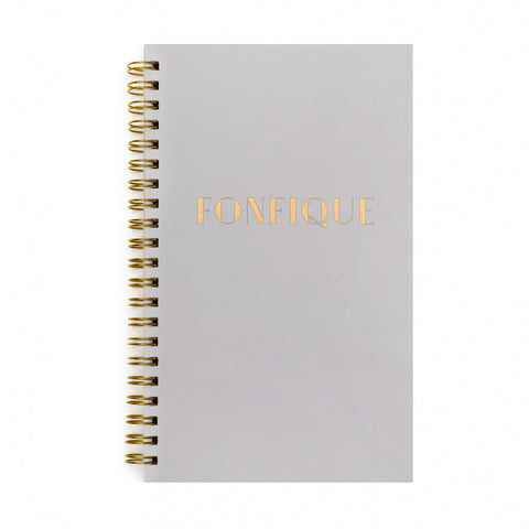 Fonfique Plain Notebook