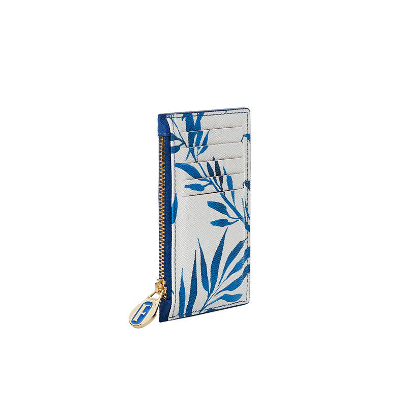 Mira Cardholder in Willow Blue