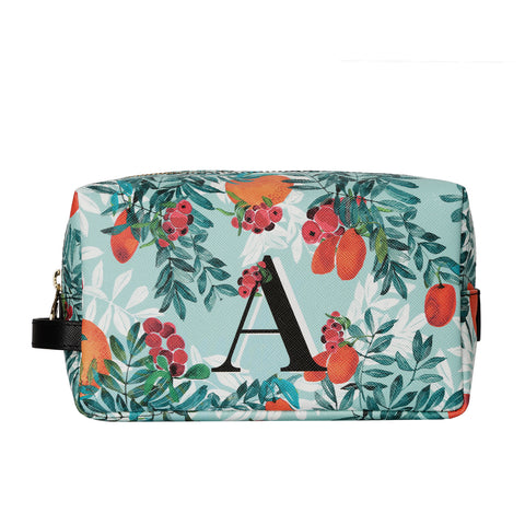 Bacio Make-up Bag in Citrus