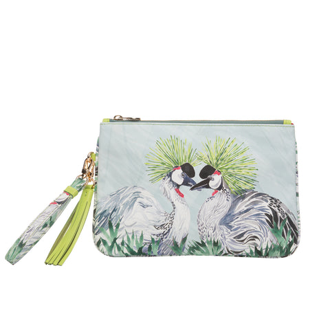 Dalida Clutch in Punkie Birds