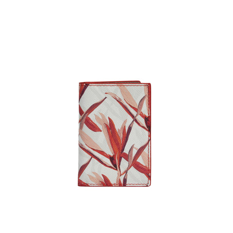 Destra Cardholder in Cradle Lily Pink - Orange