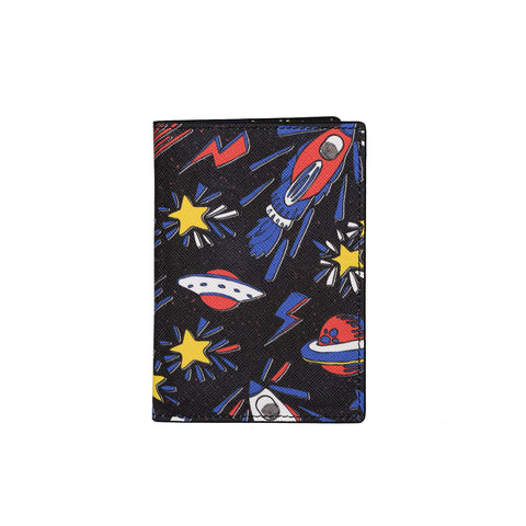 Gemma Passport Cover Galaxy Black Cansu Akın X Fonfique