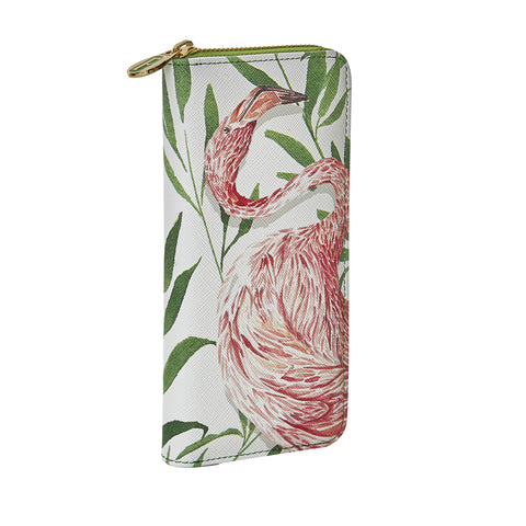 Kastra Wallet in Flamingo White