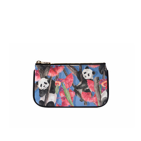 Fonfique Lily mini poşet lily mini clutch para çantası money bag panda hediye gift