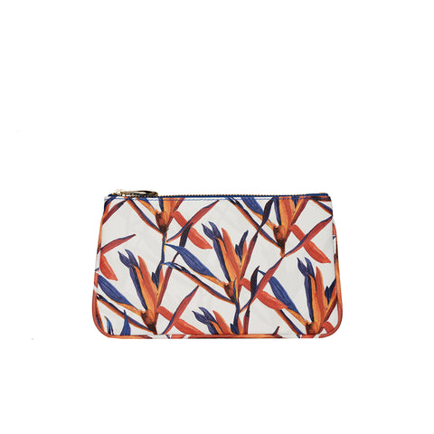 Lily Mini Clutch in Cradle Lily Blue - Orange