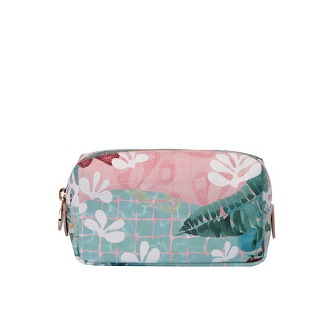 Mini Bacio Make-up Bag in Matisse on the Pond