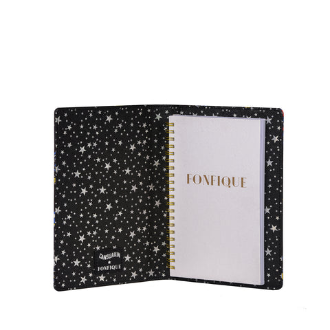 Nash Notepad in Black Cansu Akın X Fonfique